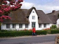 Sylt Haus mit Wall